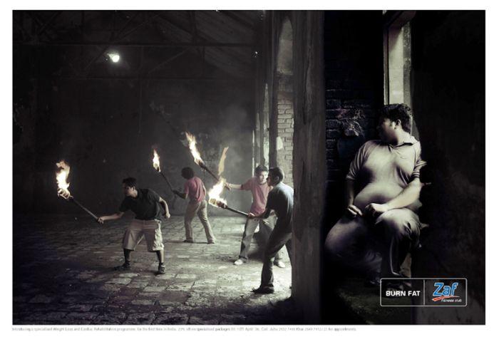 Pеклама Zaf Fitness Club