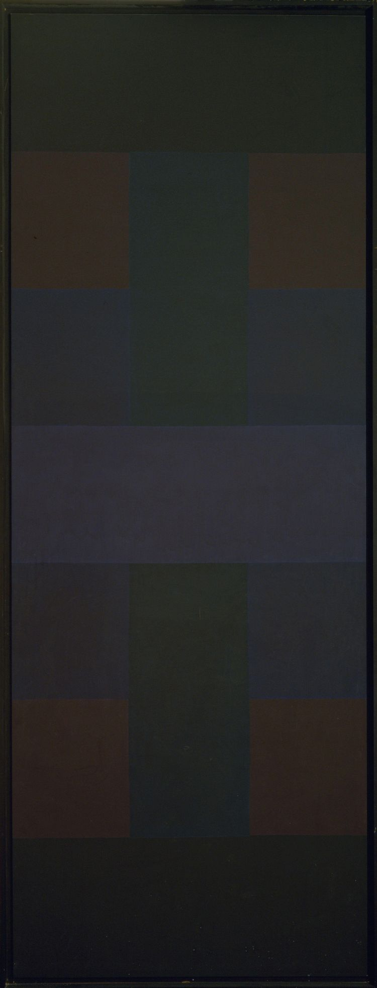 Abstract Painting by Ad Reinhardt : Sanjeev.NETwork