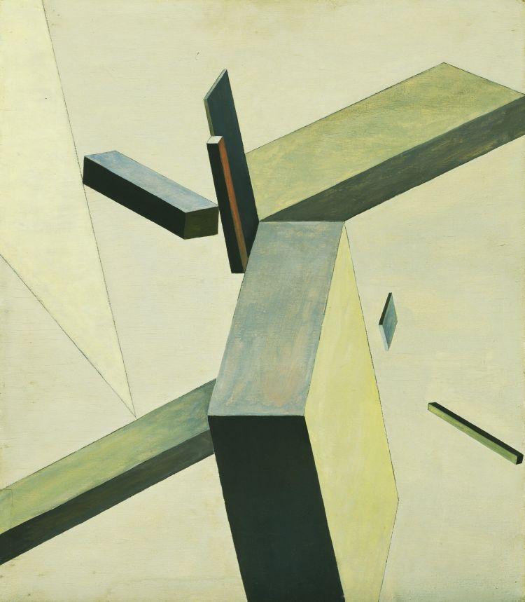 El Lissitzky 1922 Composition