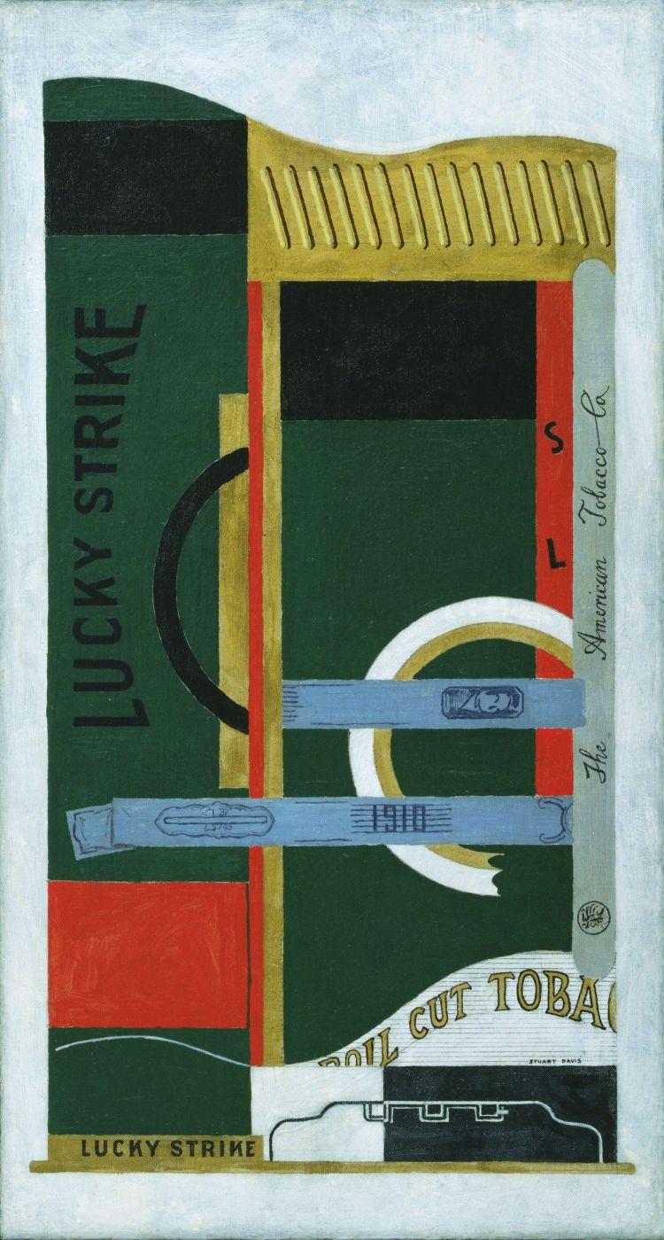 Lucky Strike by Stuart Davis