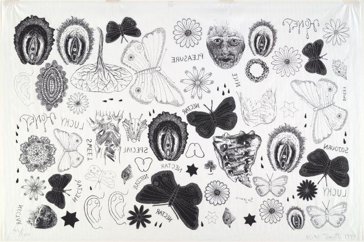 Tattoo print by kiki smith sanjeev network for Kiki tattoo artist