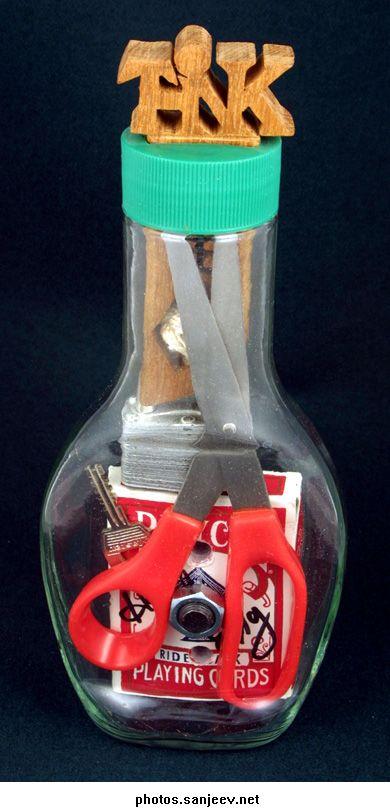 Невозможные бутылки своими руками