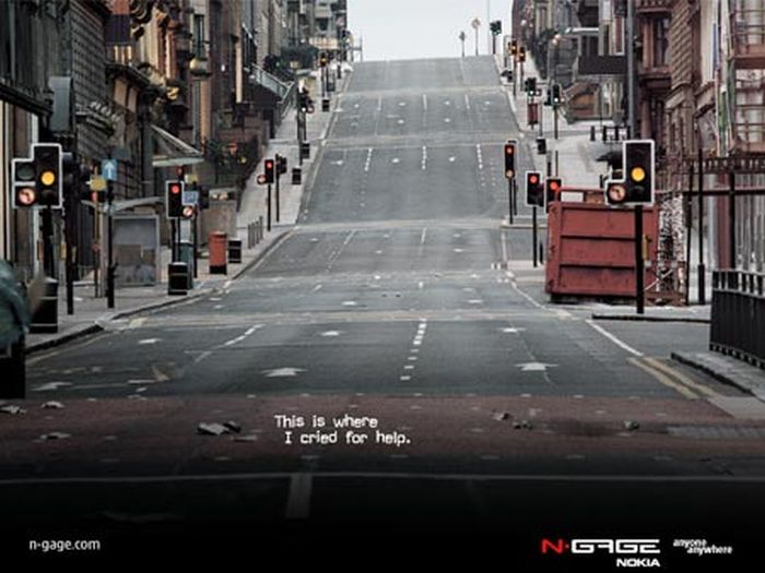Banned Nokia N-Gage Adverts