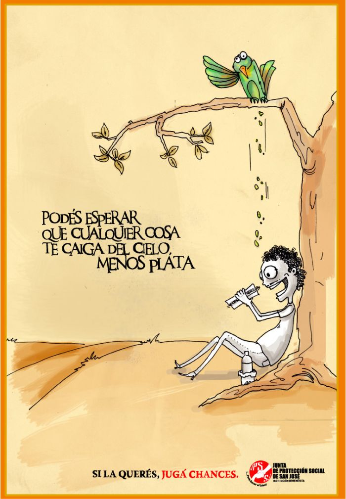 Junta de Proteccion Social Lotto: Bird poo