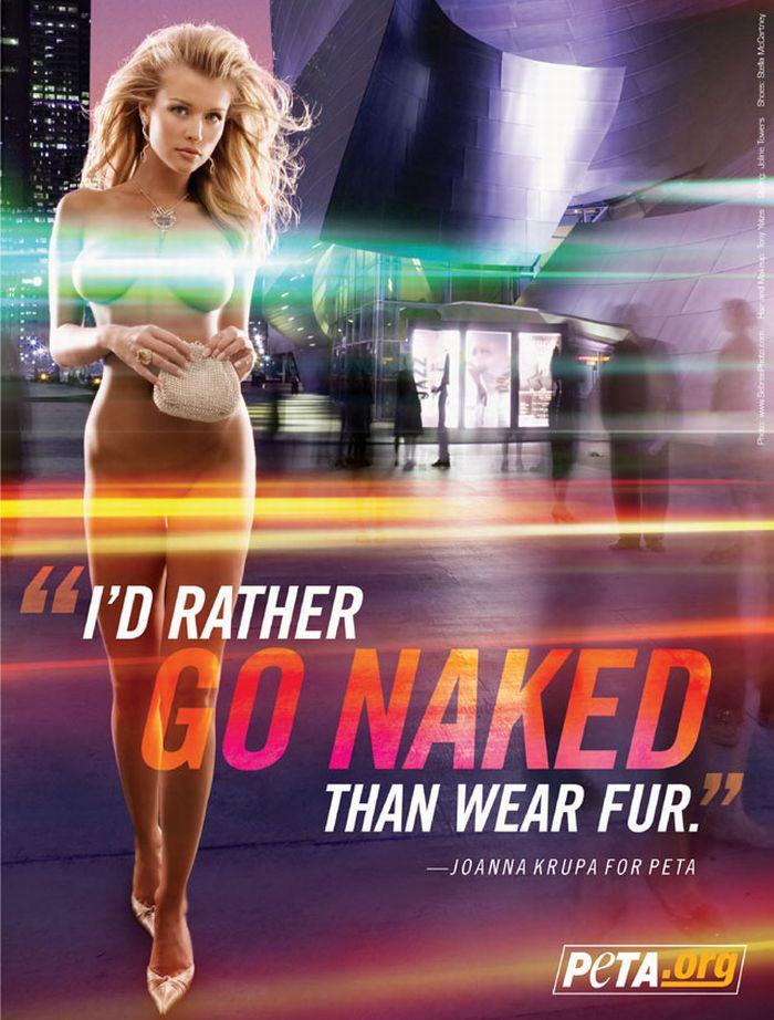 We'D Rather Go Naked Than Wear Fur 120