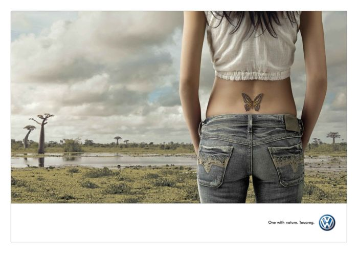 Volkswagen: Tattoo - Butterfly