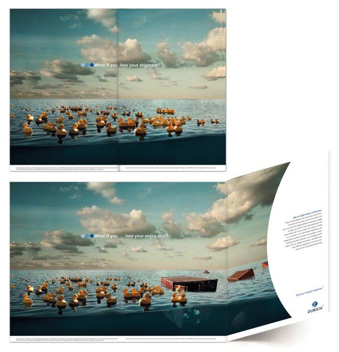 Zurich Insurance Ads