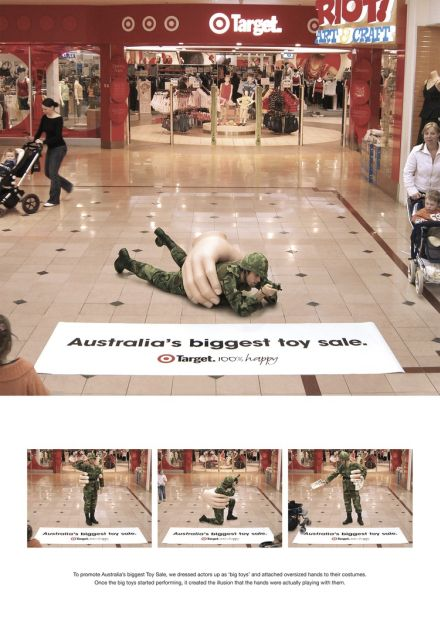 Target Toy Sale Australia : Target australia big toy sale soldier print ads of the